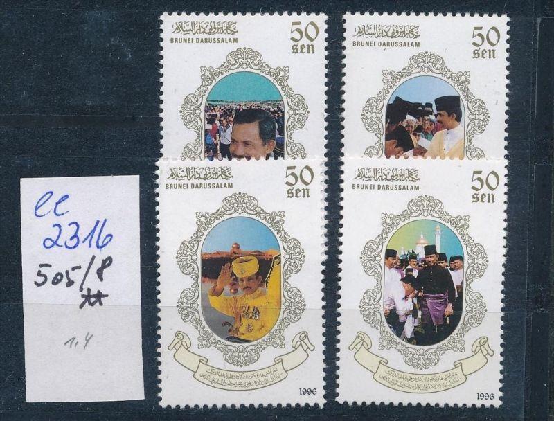 Brunei Nr. 505-8  **   ( ee2316  ) siehe scan