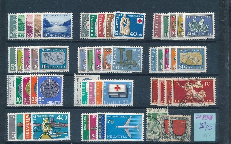 Schweiz  Lot -diverse -Zettel beachten  (ze8948 ) siehe scan