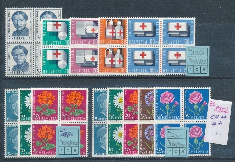 Schweiz  Lot -diverse -Zettel beachten  (ze8952 ) siehe scan