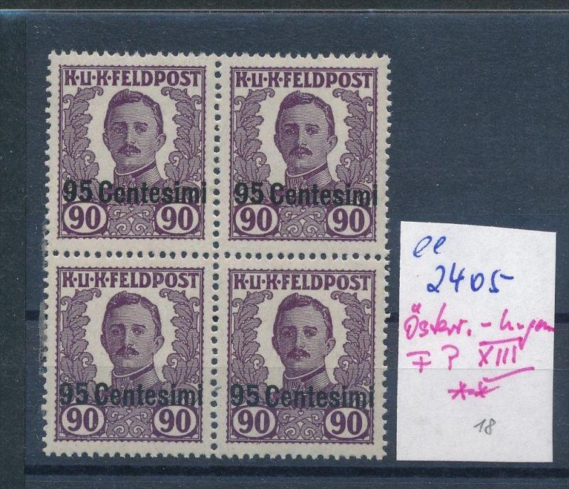 Österreich Feldpost Ungarn 4x XIII  **   ( ee2405  ) siehe scan !