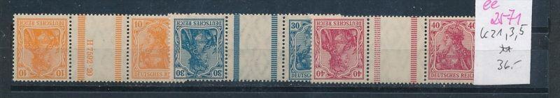 D.-Reich Nr. kz 1,3,5   **  ( ee2571 ) siehe scan !