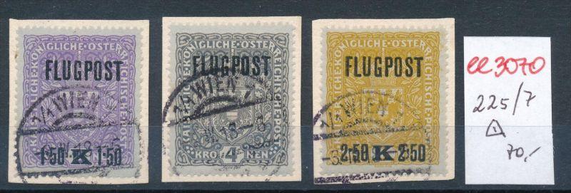Österreich   Nr. 225-7    o ( ee 3070  ) siehe scan !
