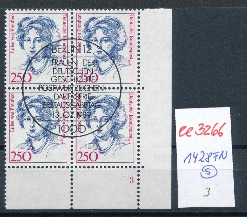 BRD  Nr.  4x 1428 FNr.  top o (ee3266 ) siehe Bild