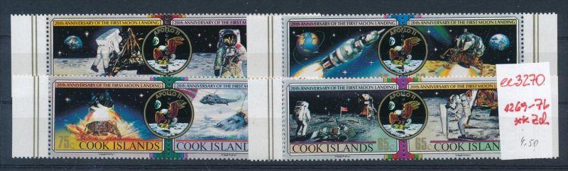 Cook Inseln  Nr. 1269-76   **.( ee3270 ) siehe scan !