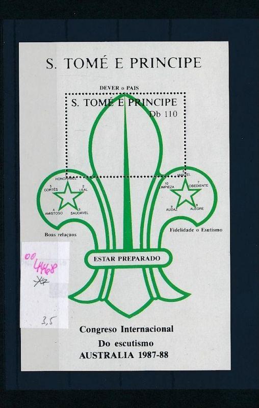 Sao Tome Block     **  (oo4468  ) siehe scan !