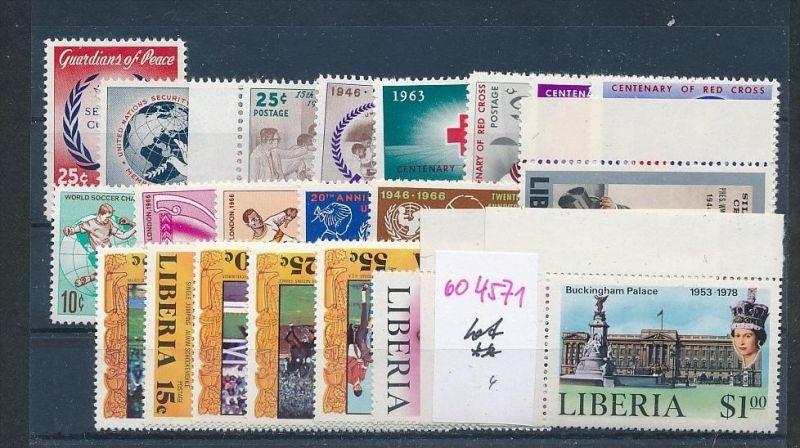 Liberia Lot      **  (oo4571  ) siehe scan !