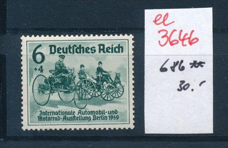 D.-Reich  Nr. 686  **   (ee3646  ) siehe scan !