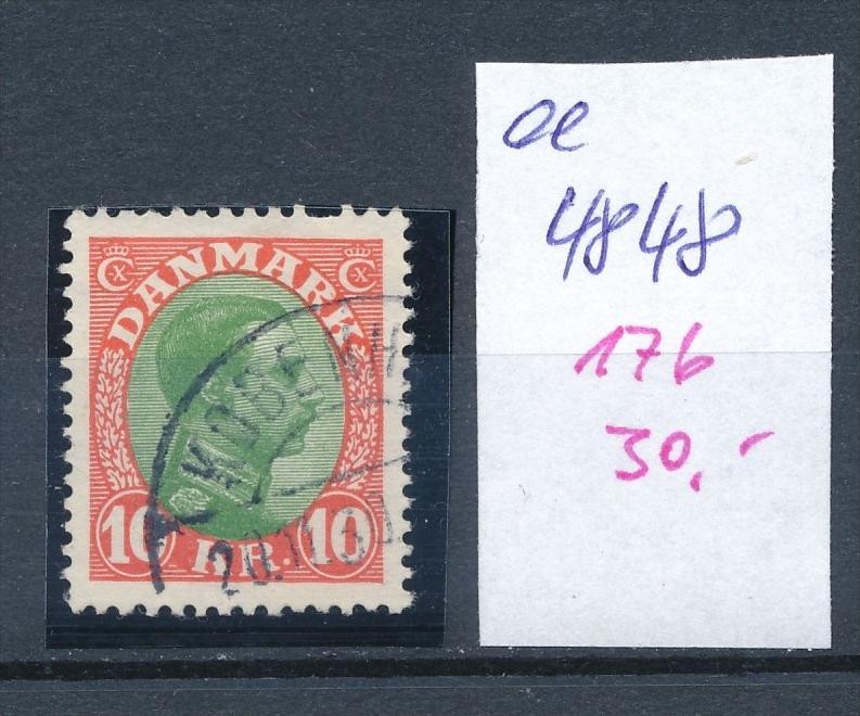 DK  Nr. 176     o  ( ee4448  ) aus einer Spezial Sammlung ! 0