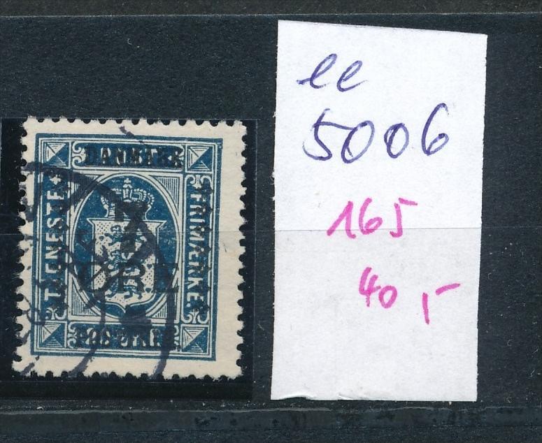 DK  Nr. 165     o  ( ee5006  ) aus einer Spezial Sammlung !