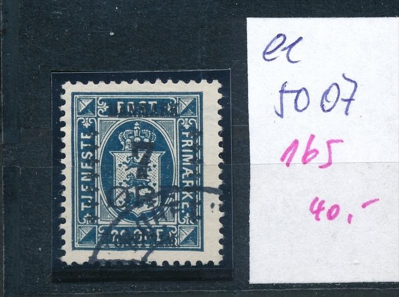 DK  Nr. 165     o  ( ee5007  ) aus einer Spezial Sammlung !