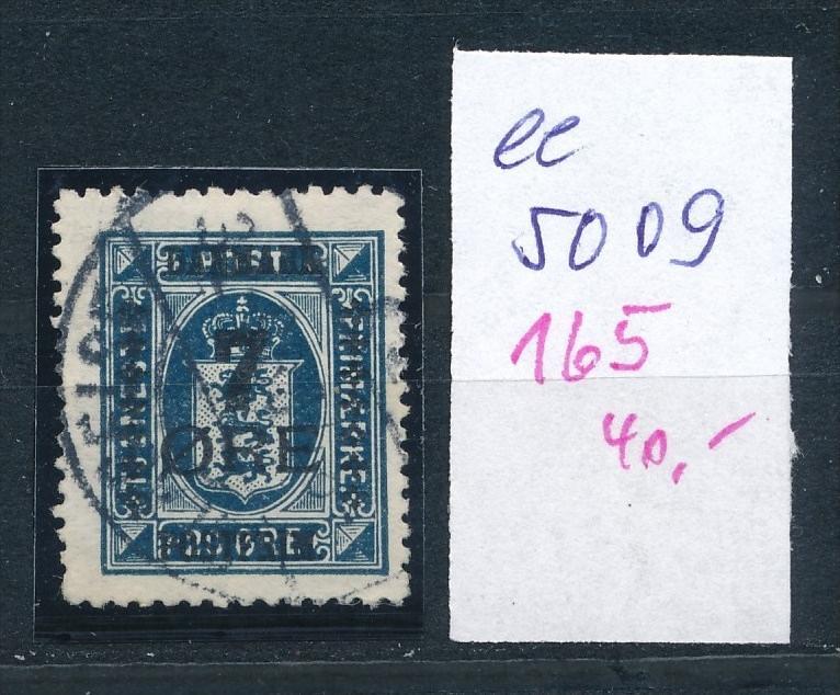 DK  Nr. 165     o  ( ee5009  ) aus einer Spezial Sammlung !