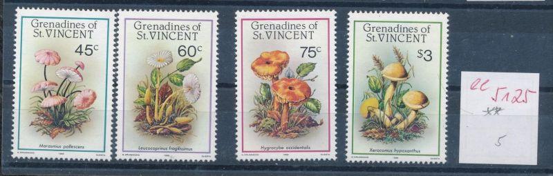 Pilze - St.Vincent ......... **    (ee5125  )siehe scan....!