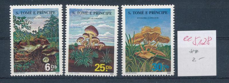 Pilze -St.Tome ........ **    (ee5128  )siehe scan....!