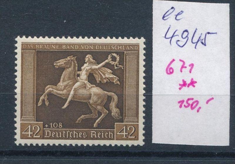 D.-Reich Nr. 671  **    (ee4945  )siehe scan....!