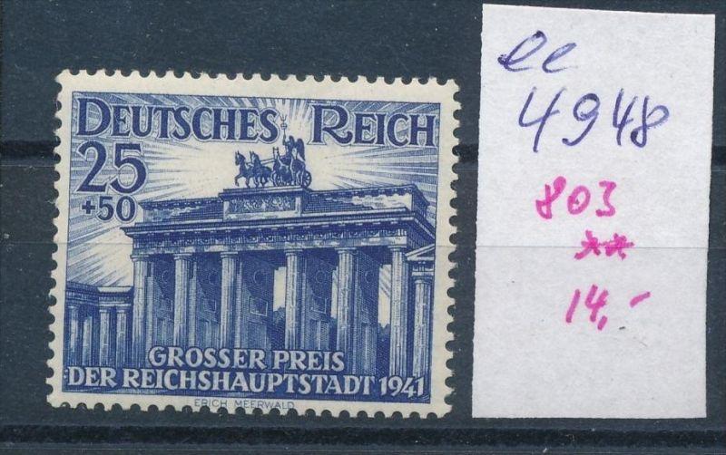 D.-Reich Nr. 803  **    (ee4948  )siehe scan....!