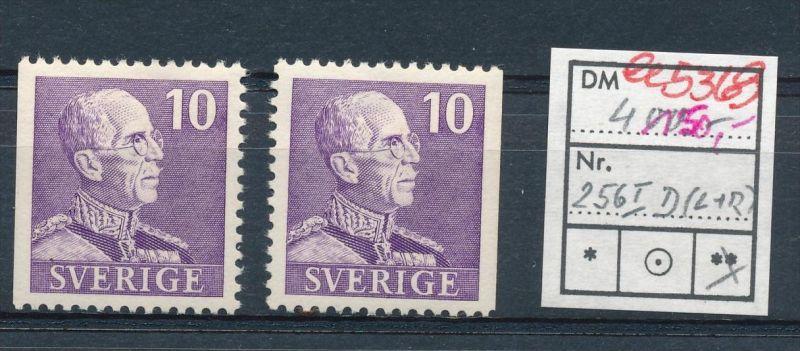 Schweden  Nr.2 x 256 I.... **  (ee5369  )siehe scan....!