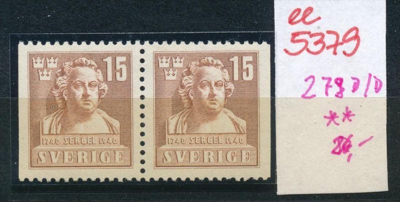Schweden  Nr. 279  D/D  **  (ee5379  )siehe scan....!