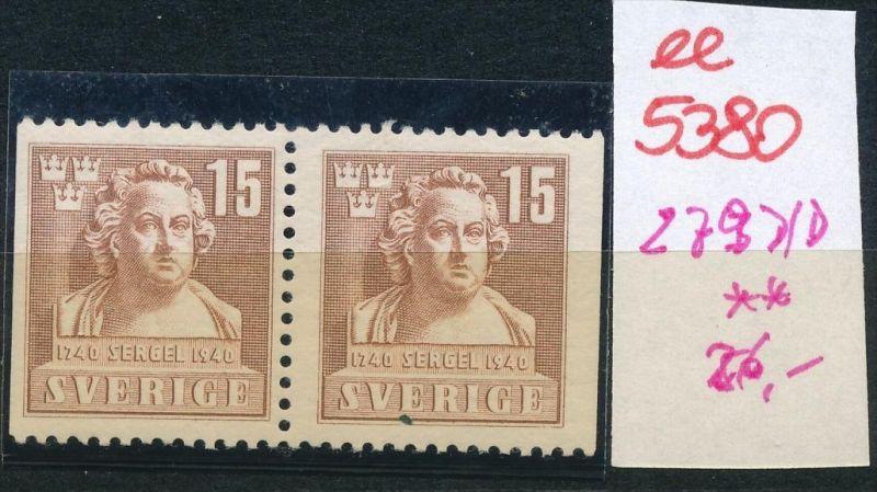 Schweden  Nr. 279  D/D  **  (ee5380  )siehe scan....!