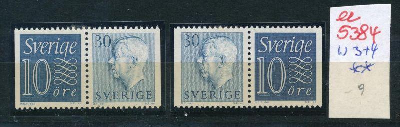 Schweden  Nr. w 3+4   **  (ee5384  )siehe scan....!