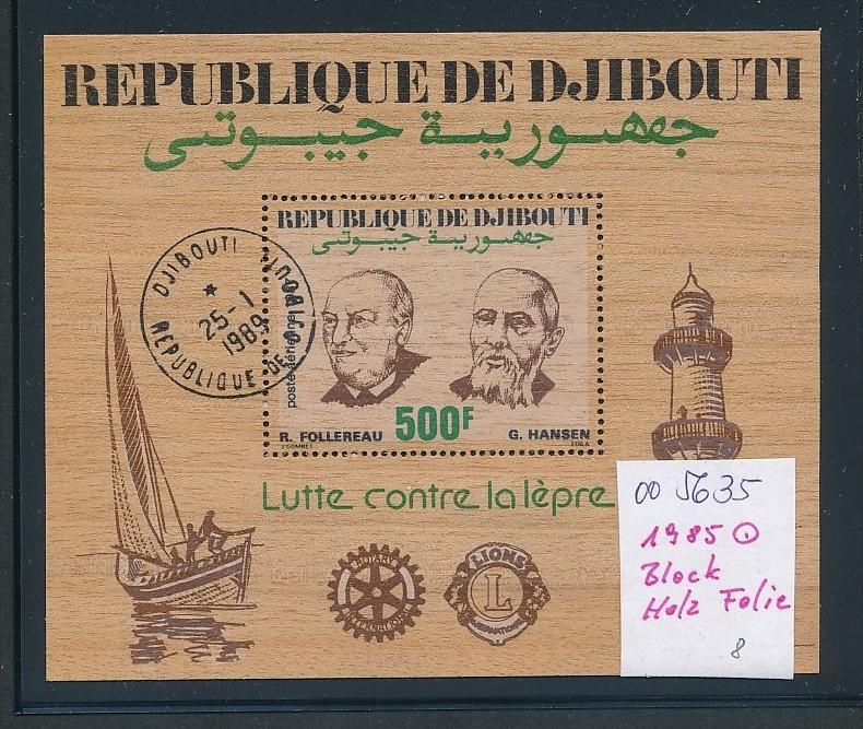 Djhbouti Block Holzfolie (oo5635  )siehe scan....!