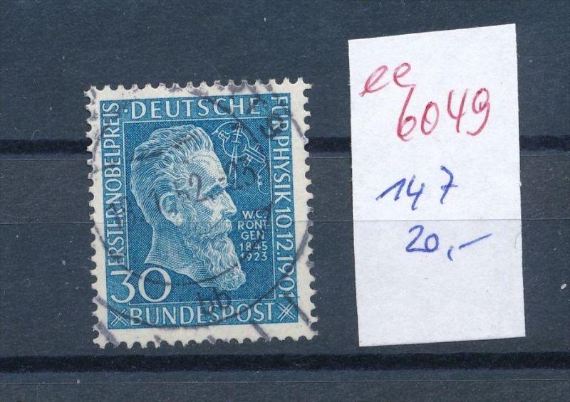 BRD Nr. 147  o  (  ee6049 ) siehe scan....!