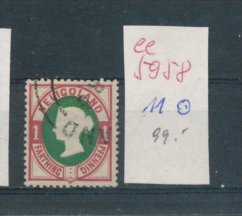 Helgoland Nr.   11  (  ee5958  ) siehe scan....!