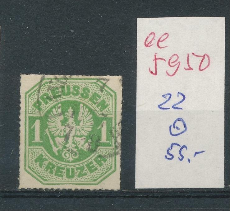 Preussen Nr.   22    (  ee5950  ) siehe scan....!
