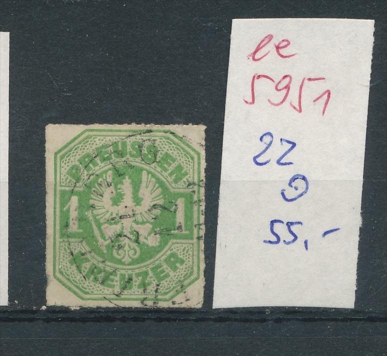 Preussen Nr.   22    (  ee5951  ) siehe scan....!