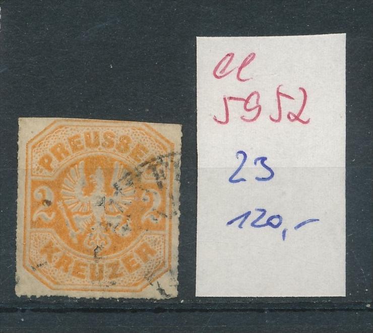 Preussen Nr.   23    (  ee5952  ) siehe scan....!