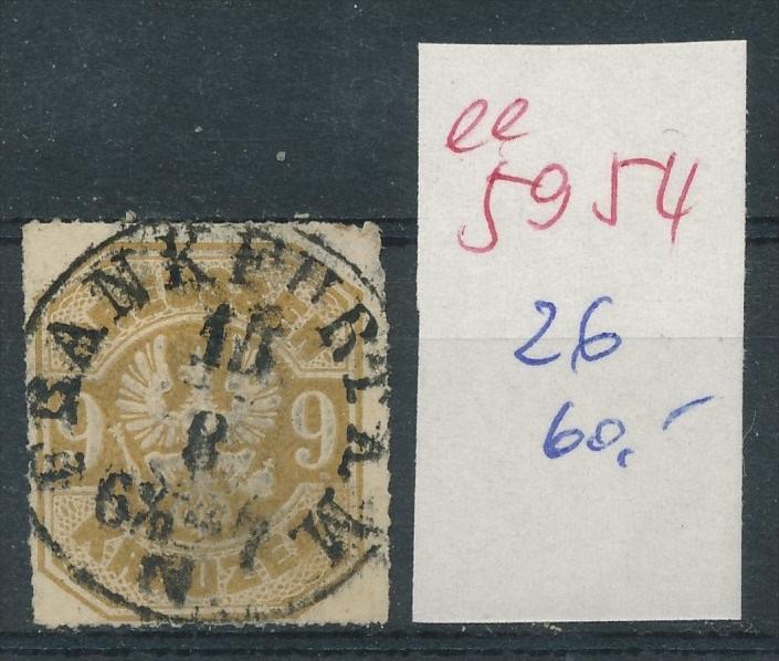 Preussen Nr.   26    (  ee5954  ) siehe scan....!