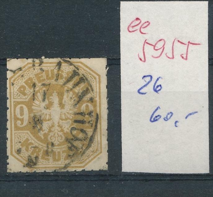 Preussen Nr.   26    (  ee5955  ) siehe scan....!
