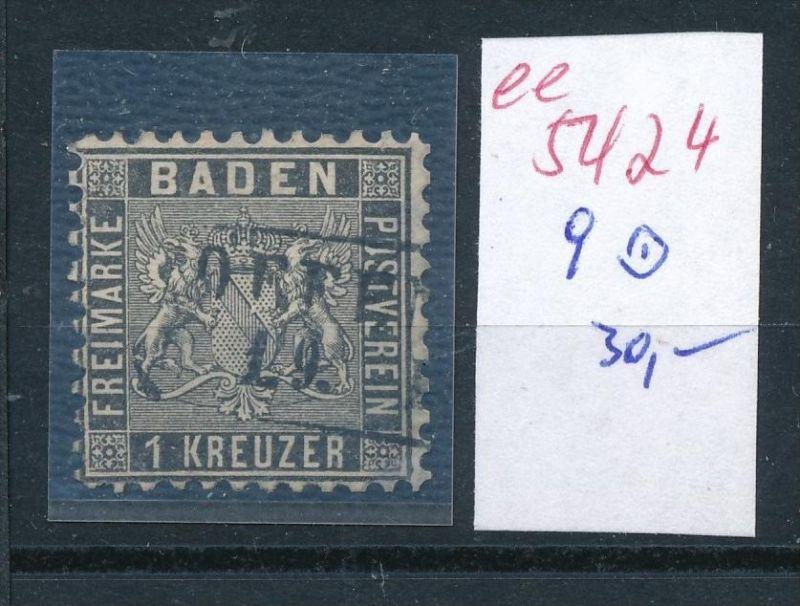Baden  Nr.   9    (  ee5424  ) siehe scan....!