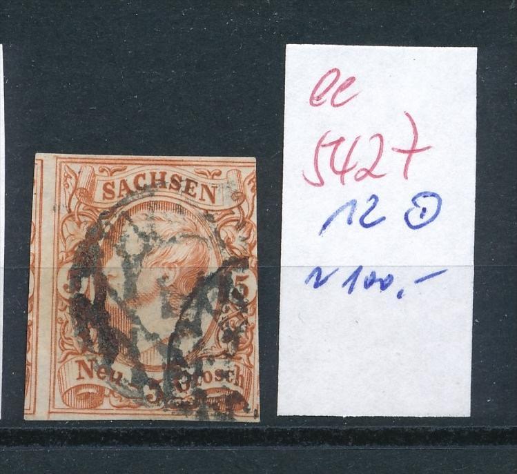 Sachsen   Nr.   12    (  ee5427  ) siehe scan....!