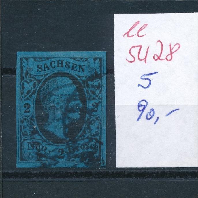 Sachsen   Nr.  5  (  ee5428  ) siehe scan....!