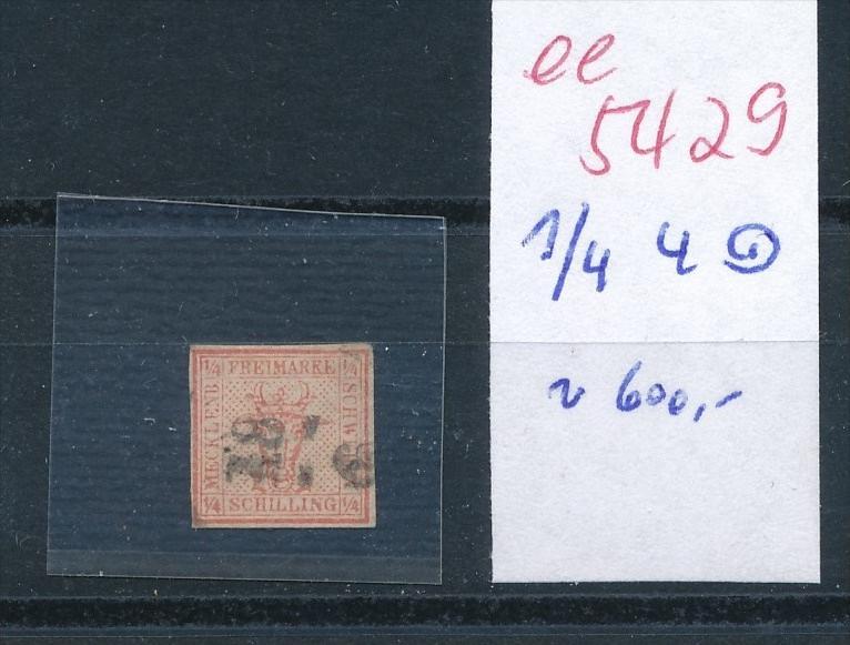 M.Schwerin  1/4  4     (  ee5429  ) siehe scan....!