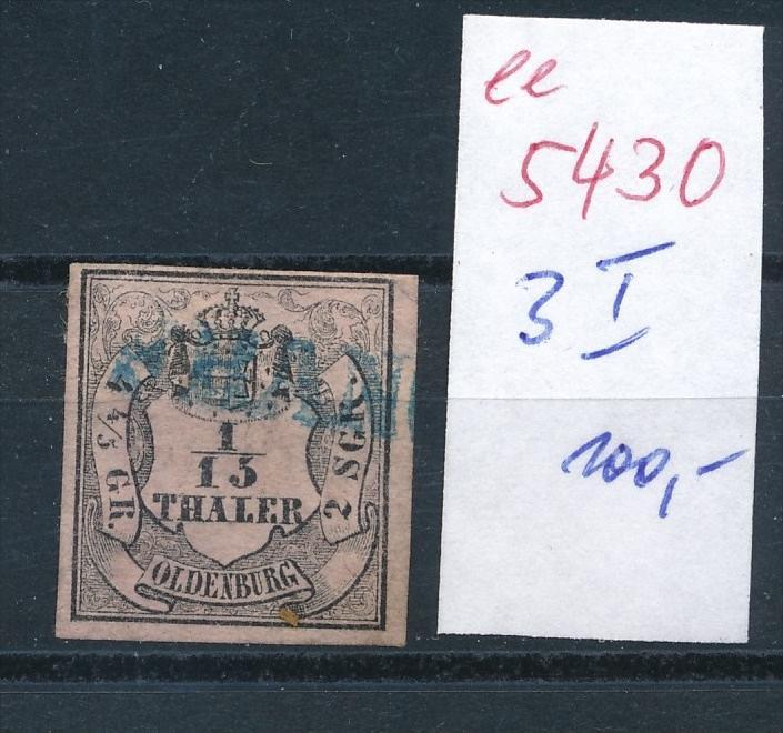 Oldenburg Nr. 3 I    (  ee5430  ) siehe scan....!