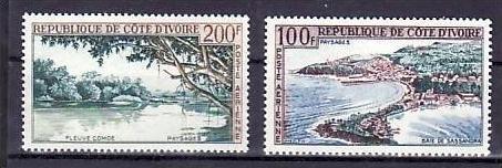 Elfenbein Küste Nr. 248-9    **   ( v9683  ) siehe scan
