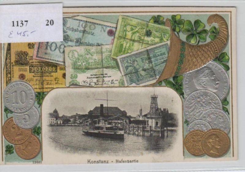 Motiv-MünzenPräge -  Konstanz   - schöne alte Karte ....   (ka5253  ) siehe scan