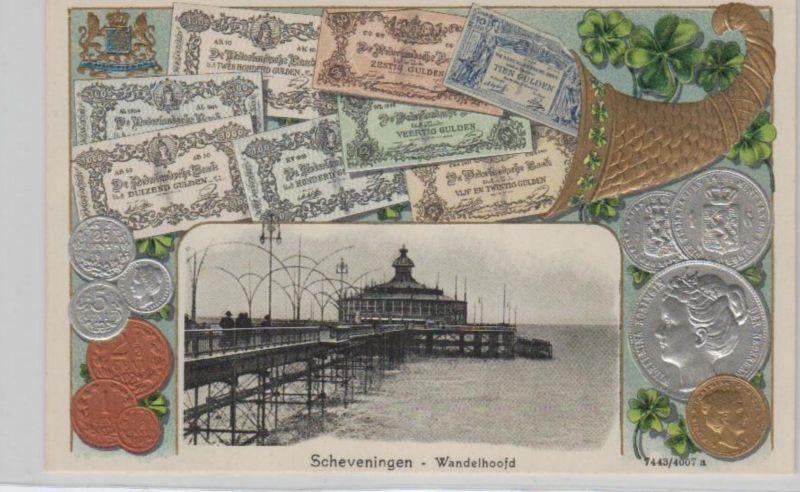 Motiv-MünzenPräge -  Scheveningen   - schöne alte Karte ....   (ka5333  ) siehe scan