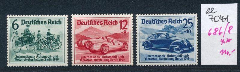 D.-Reich   Nr. 686-88    **    (ee7041  ) siehe scan