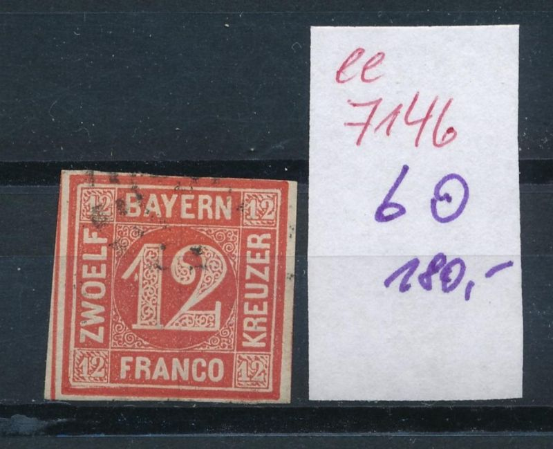 Bayern Nr. 6   o    (ee7146  ) siehe scan