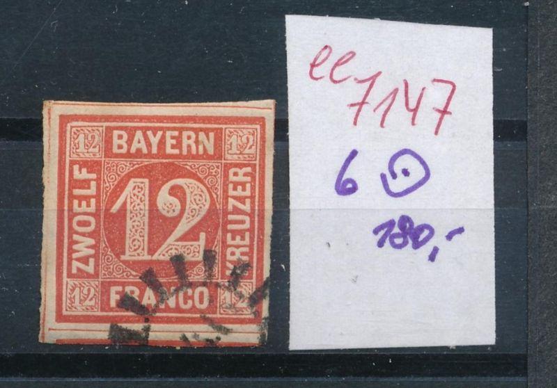 Bayern Nr. 6   o    (ee7147  ) siehe scan