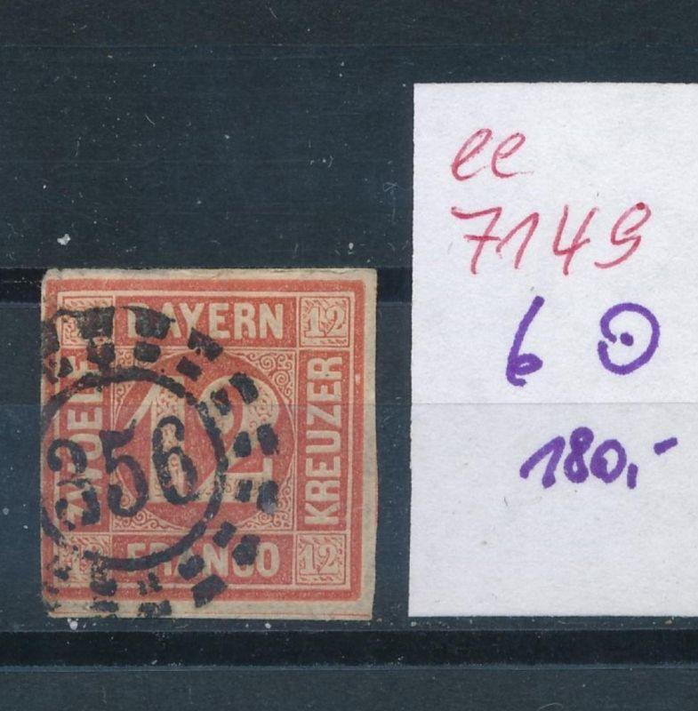 Bayern Nr. 6   o    (ee7149  ) siehe scan
