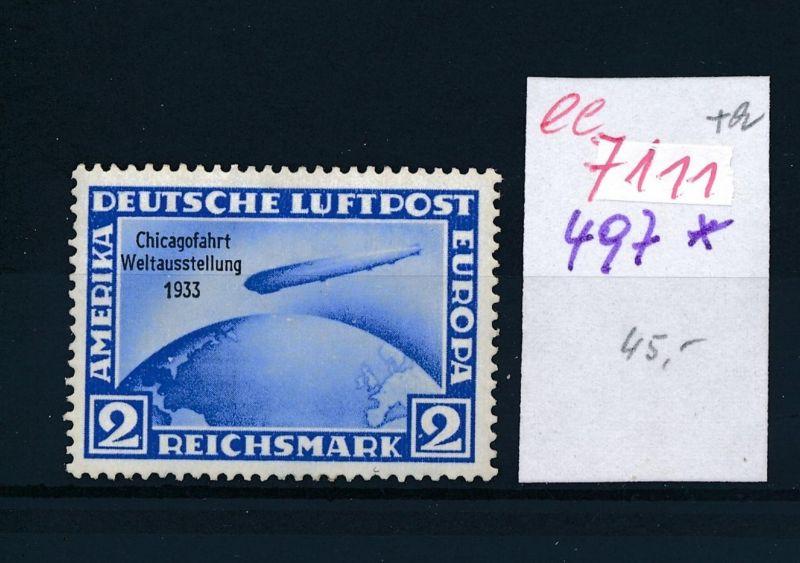 D.-Reich Nr.  497  *     (ee7111  ) siehe scan