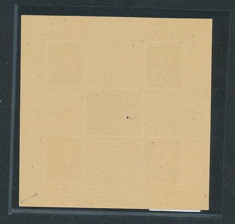 SBZ Block  3  B  PLF  **      (oo6446  ) siehe scan 1