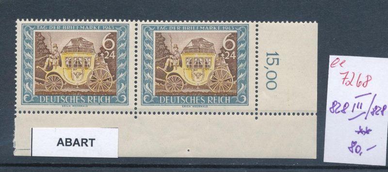 D.-Reich Nr. 828 III.....**    (ee7268  ) siehe scan