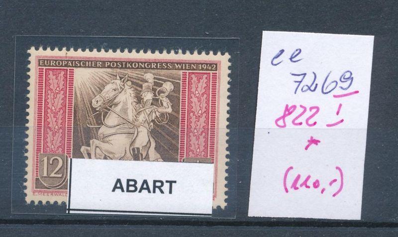 D.-Reich Nr. 822 I*    (ee7269  ) siehe scan 0