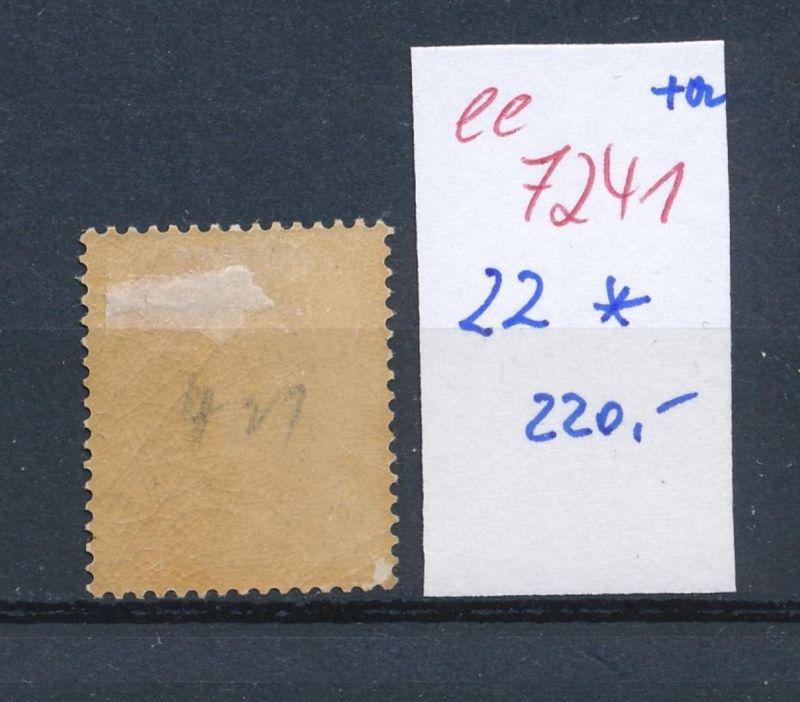 Belgien Nr. 22  * (ee7241  ) siehe scan 1