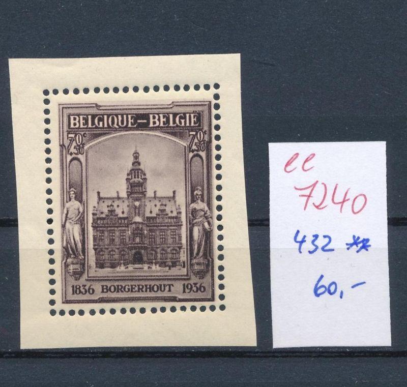 Belgien Nr.  432  ** (ee7240  ) siehe scan