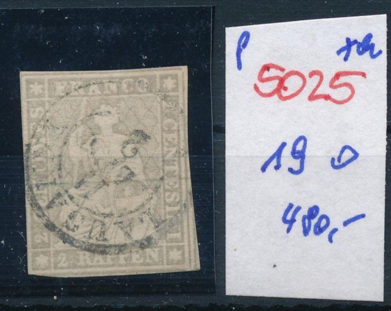Schweiz nr.  19  o    (p5025  ) siehe scan 0